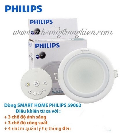 LED âm trần Smalu 59062/10,5w philips